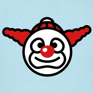 clown_smiley_3c T-Shirts - Men's T-Shirt