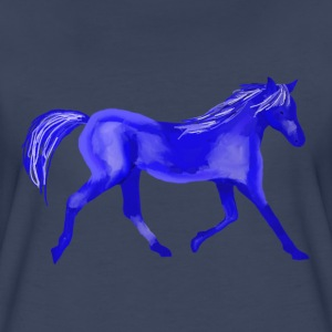 Blue Horse - Women's Premium T-Shirt