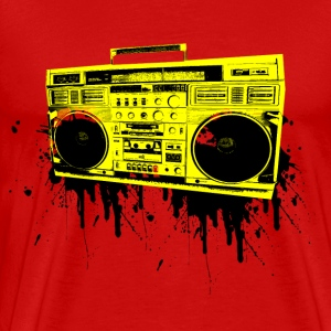 vintage boom box - Men's Premium T-Shirt