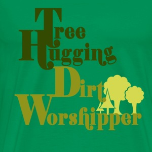 Tree Hugger - Men's Premium T-Shirt
