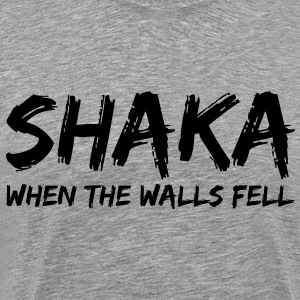 Star Trek: Shaka, When The Walls Fell (Black) - Men's - Men's Premium T-Shirt
