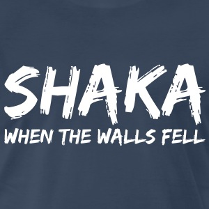 Star Trek: Shaka, When The Walls Fell (White) - Men's - Men's Premium T-Shirt