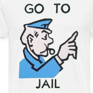 Go To Jail Tee - Men's Premium T-Shirt