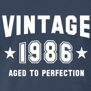 VINTAGE 1986 - Birthday T-Shirt WN - Men's Premium T-Shirt