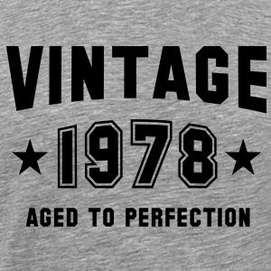 VINTAGE 1978 - Birthday T-Shirt BH - Men's Premium T-Shirt