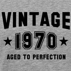 VINTAGE 1970 - Birthday T-Shirt BH - Men's Premium T-Shirt
