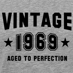 VINTAGE 1969 - Birthday T-Shirt BH