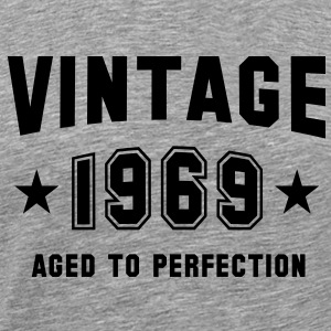 VINTAGE 1969 - Birthday T-Shirt BH - Men's Premium T-Shirt