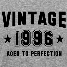 VINTAGE 1996 - Birthday T-Shirt BH