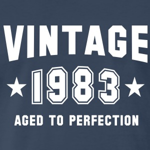 VINTAGE 1983 - Birthday T-Shirt WN - Men's Premium T-Shirt
