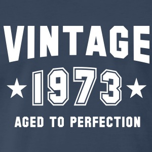 VINTAGE 1973 - Birthday T-Shirt WN - Men's Premium T-Shirt