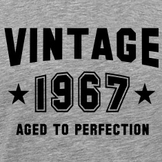 VINTAGE 1967 - Birthday T-Shirt BH