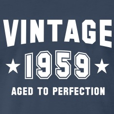 VINTAGE 1959 - Birthday T-Shirt WN