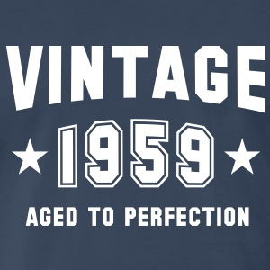 VINTAGE 1959 - Birthday T-Shirt WN - Men's Premium T-Shirt