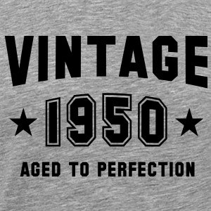 VINTAGE 1950 - Birthday T-Shirt BH - Men's Premium T-Shirt