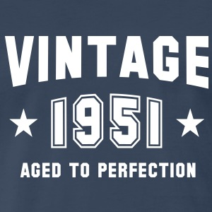 VINTAGE 1951 - Birthday T-Shirt WN - Men's Premium T-Shirt