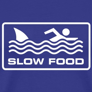 Slow food T-Shirts - Men's Premium T-Shirt