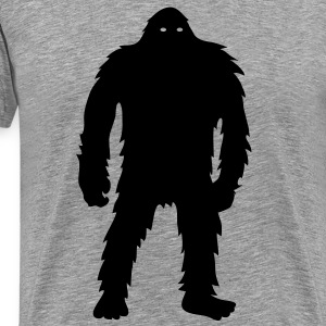 Bigfoot (Black) - Men's - Men's Premium T-Shirt