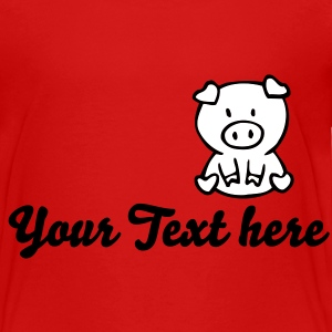 pig Toddler Shirts - Toddler Premium T-Shirt