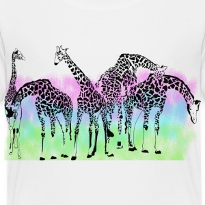 Giraffes - Toddler Premium T-Shirt