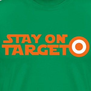 STAY ON TARGET star centre awesome! T-Shirts - Men's Premium T-Shirt