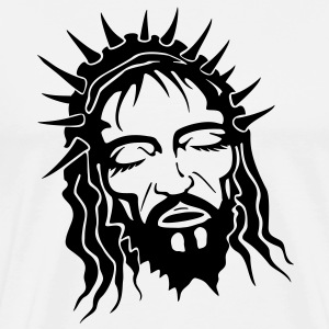 Jesus HD VECTOR T-Shirts - Men's Premium T-Shirt