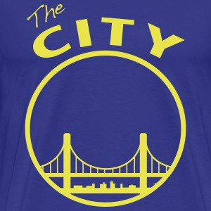 The CIty - San Francisco - bay Area - Men's Premium T-Shirt