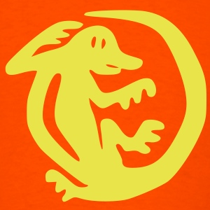 Orange_Iguanas T-Shirts - Men's T-Shirt