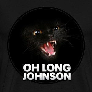 South Park: Oh Long Johnson Cat (Color) - Men's - Men's Premium T-Shirt