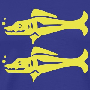 Blue_Barracudas (HQ) T-Shirts - Men's Premium T-Shirt