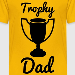 trophy dad Kids' Shirts - Kids' Premium T-Shirt