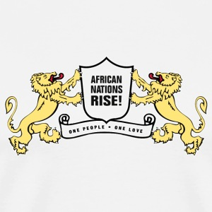 afrinationrise T-Shirts - Men's Premium T-Shirt