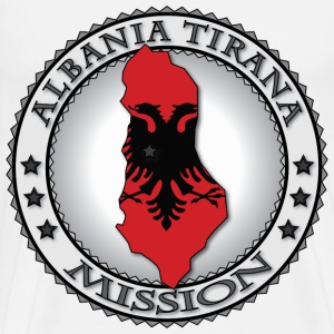 Albania Tirana LDS Mission - Called to Serve - Men's Premium T-Shirt