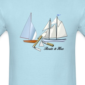 BOATS AND HOES - Men's T-Shirt