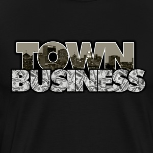 TOWN BUSINESS RAIDERS - Men's Premium T-Shirt