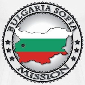 Bulgaria Sofia LDS Mission - Called to Serve - Men's Premium T-Shirt