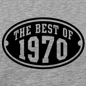 THE BEST OF 1970 Birthday Anniversary T-Shirt BH - Men's Premium T-Shirt