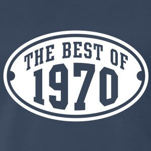 THE BEST OF 1970 Birthday Anniversary T-Shirt WN - Men's Premium T-Shirt