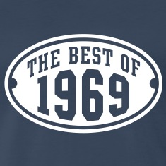 THE BEST OF 1969 Birthday Anniversary T-Shirt WN
