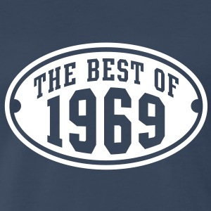 THE BEST OF 1969 Birthday Anniversary T-Shirt WN - Men's Premium T-Shirt