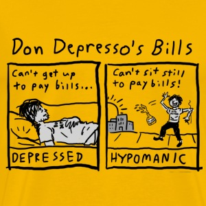 Don Depresso's Bills - Men's Premium T-Shirt