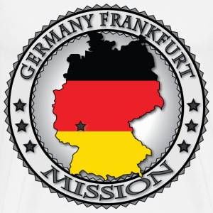 Germany Frankfurt LDS Mission - Called to Serve - Men's Premium T-Shirt