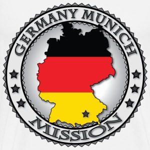 Germany Munich LDS Mission Called to Serve - Men's Premium T-Shirt