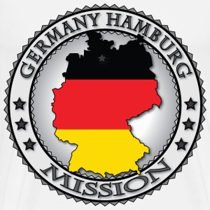 Germany Hamburg LDS Mission - Called to Serve - Men's Premium T-Shirt