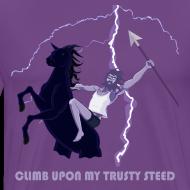 Design ~ Climb upon my trusty steed
