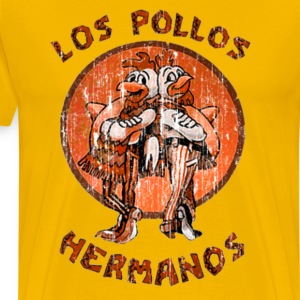 los pollos orange T-Shirts - Men's Premium T-Shirt