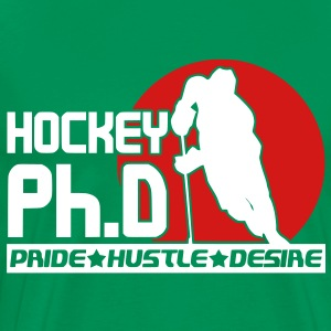 Hockey Ph.D  T-Shirts - Men's Premium T-Shirt