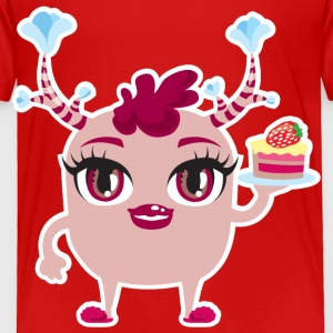 monster cake Toddler Shirts - Toddler Premium T-Shirt