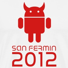 android san fermin 2012 Sanfermines Bullfighting T-Shirts