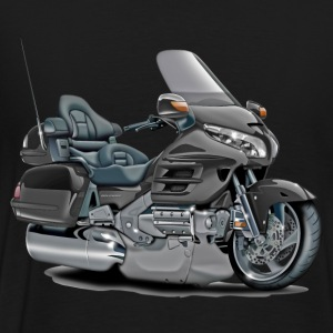 Goldwing Grey Bike T-Shirts - Men's Premium T-Shirt